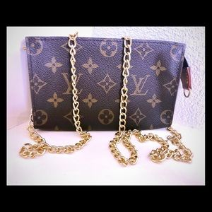 Louis Vuitton Pouch PM wristlet Crossbody